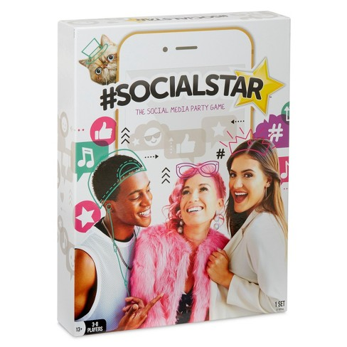 #SocialStar – The Social Media Party Game - image 1 of 5