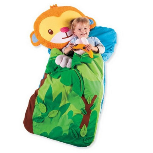 Sillies Sleeping Bag With Plush Pillow For Kids Hearthsong