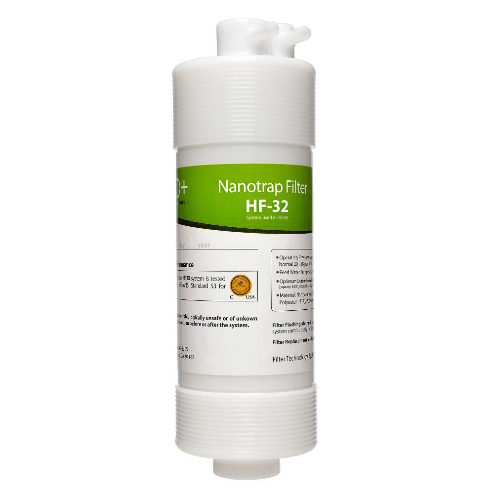Brondell H2O+ Cypress Nanotrap Filter, White