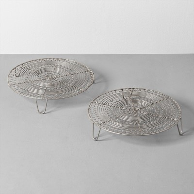2pk Cooling Rack Pewter - Hearth & Hand™ with Magnolia