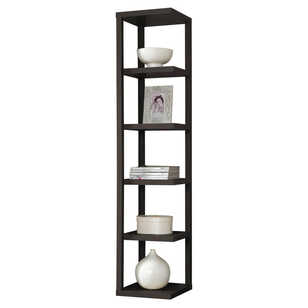 Decorative Bookshelf 73 Cappuccino - Acme Furniture