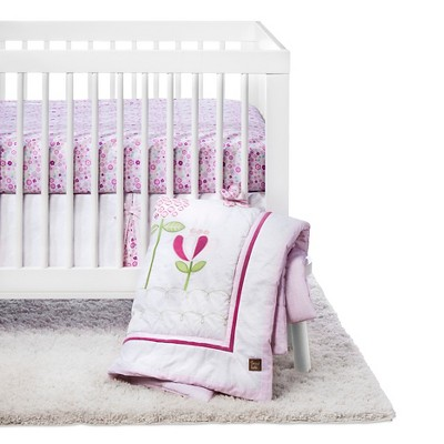 Trend Lab 6pc Crib Bedding Set - Floral Fun