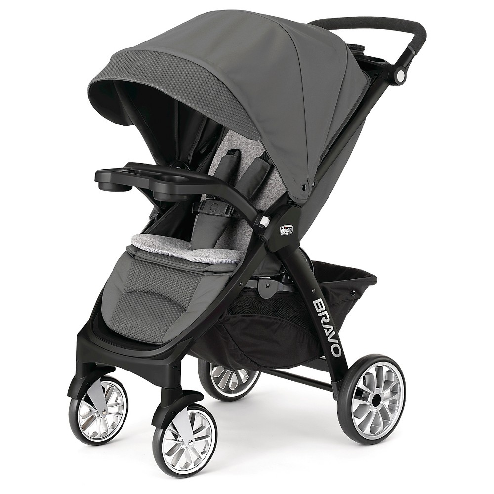Image of Chicco Bravo Stroller LE - Coal, Gray