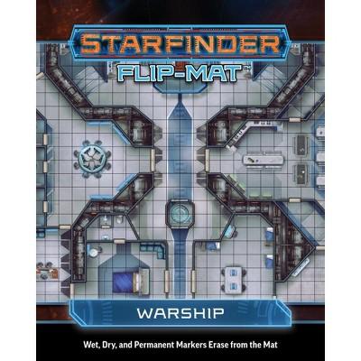 Flip-Mat - Starfinder - Warship Ziplock