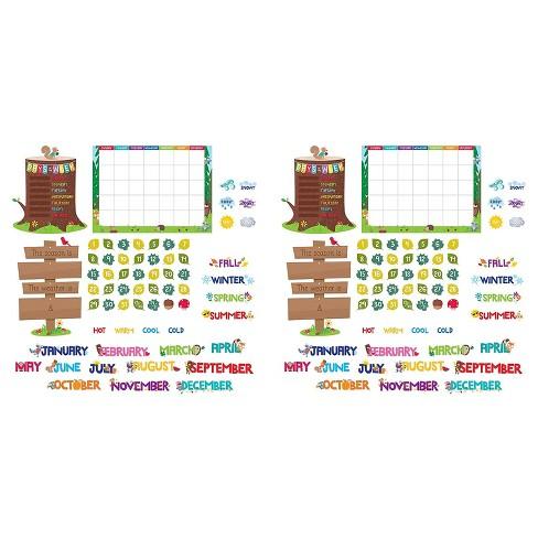 Creative Teaching Press Woodland Friends Calendar Bulletin Board Set 2 Sets CTP8006-2 - image 1 of 2