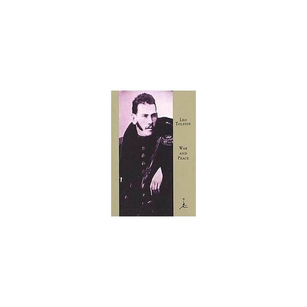 War and Peace (Hardcover) (Leo Tolstoy & Constance Black Garnett)