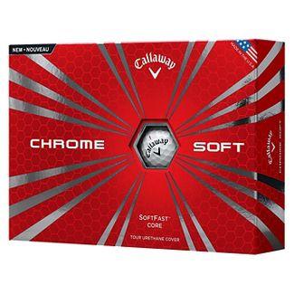 Callaway Chrome Soft Golf Balls, 12 Pack