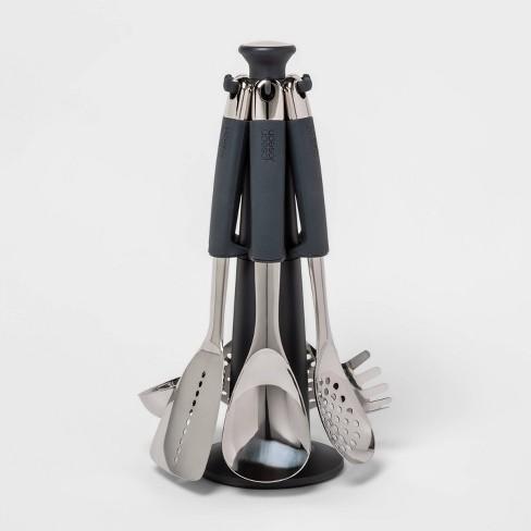 Joseph Joseph 6pc Stainless Steel 100 Collection Rotating Kitchen Utensil Set Target