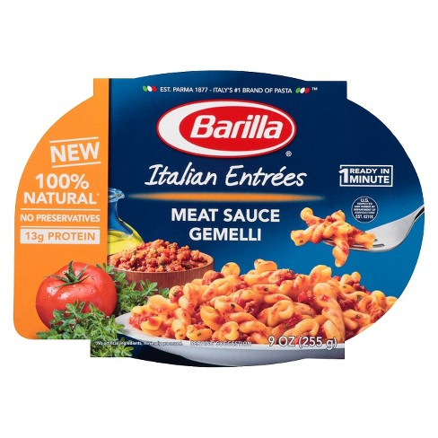 Barilla® Gemelli with Meat Sauce 9oz. - image 1 of 1
