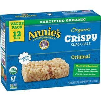 Annies Organic Crispy Treat Bar- 9.36oz/12ct