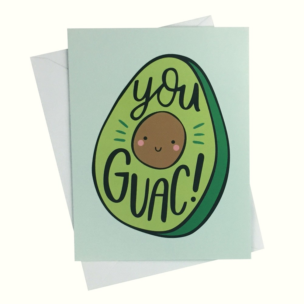 """Image of """"4.25""""""""x5.5"""""""" 10ct You Guac - Paper Riot"""""""