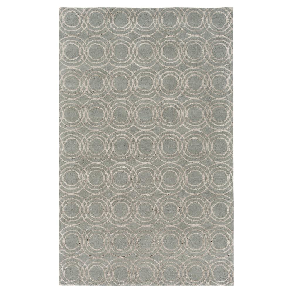 Costen Area Rug - Light Gray, Khaki - (8' x 10') - Surya