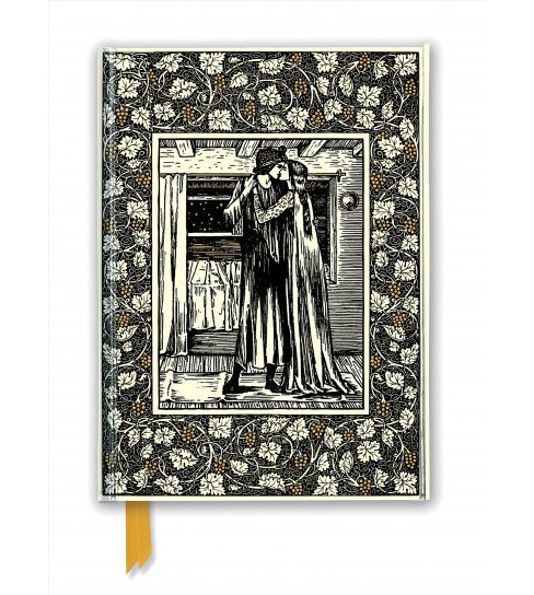 William Morris Foiled Journal : The Story of Troilus and Criseyde -  (Hardcover) - image 1 of 1