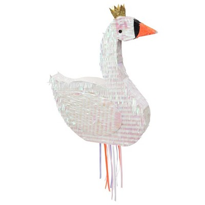 Meri Meri - Swan Party Pinata - Party Decorations and Accessories - 1ct