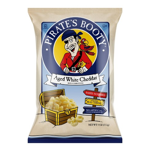 Pirate's Booty Aged White Cheddar Puffs - 4oz - image 1 of 3