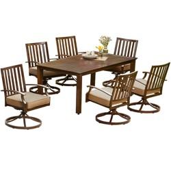 7pc Bridgeport Motion Dining - Royal Garden