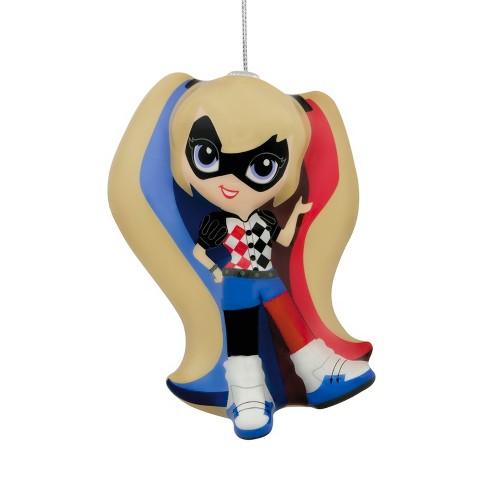 hallmark dc comics harley quinn decoupage christmas ornament