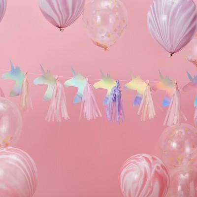 Unicorn Garland With Tassels
