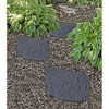 Gardener's Supply Company Recycled Rubber Flagstone Stepping Stone - Gardener's Supply Company - image 2 of 2