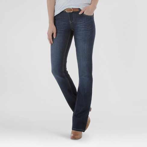 Women's Curvy Fit Signature Bootcut Jeans Storm 6 Long - Crafted by Lee® - image 1 of 4