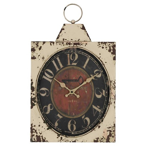 Dasha Wall Clock Vintage Beige - Cooper Classics® - image 1 of 2