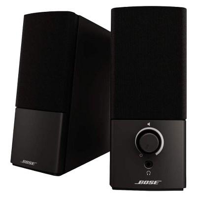 Bose Companion 2 Series III Multimedia Speaker System - Black (3544951100)