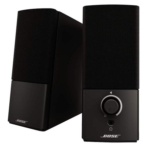 Bose® Companion® 2 Series III Multimedia Speaker System - Black (3544951100) - image 1 of 2