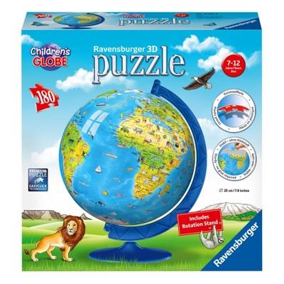 Ravensburger Children's Globe 3D Puzzle 180pc
