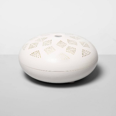 200ml Dotted Orb Oil Diffuser White/Gold - Opalhouse™