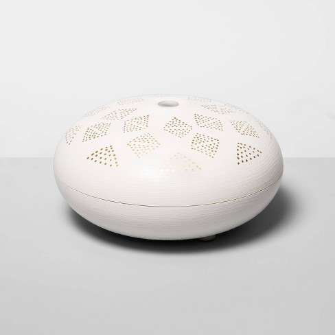 200ml Dotted Orb Oil Diffuser White/Gold - Opalhouse™ - image 1 of 1