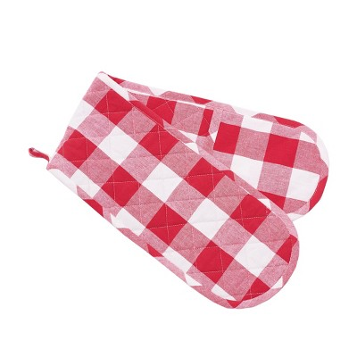 C&F Home Franklin Red Double Oven Mitt