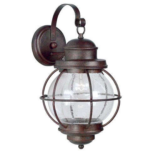 Kenroy Home Hatteras Large Wall Lantern- Gilded Copper - image 1 of 1