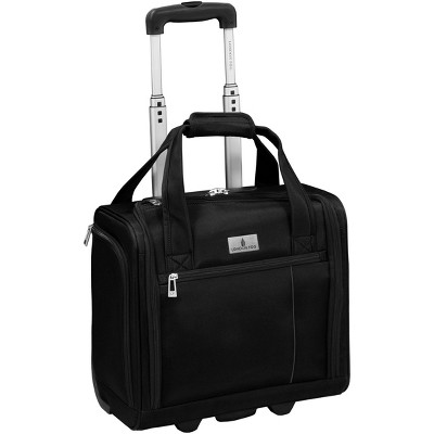 "London Fog Cranford Collection 15"" 2-Wheel Wheeled Boarding Bag"
