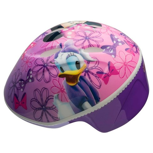 Minnie Mouse and Daisy Toddler Helmet - Pink/Purple - image 1 of 2