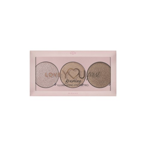 Love YOU First By REALHER Beaming Illuminating Strobe Highlighter Trio - 0.27oz - image 1 of 4