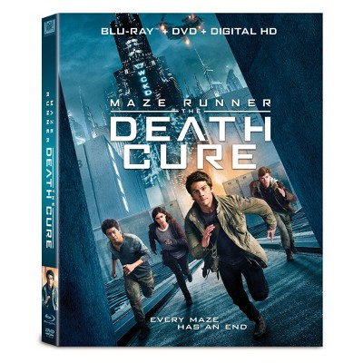 Maze Runner: Death Cure (Blu-ray + DVD + Digital)