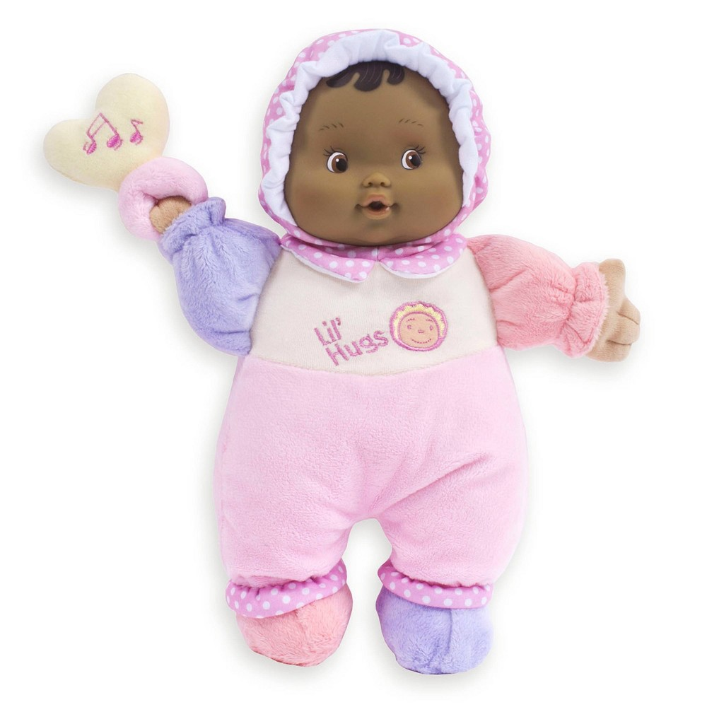 Jc Toys Lil 39 Hugs Your First Baby Doll Brown Eyes