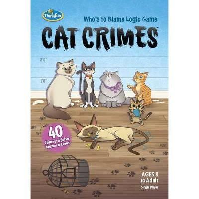 Cat Crimes Card Game
