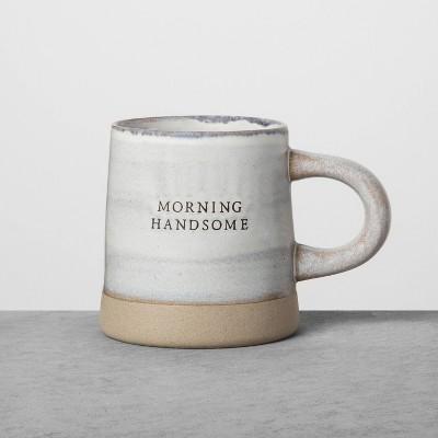 Reactive Glaze Stoneware Mug Morning Handsome Blue - Hearth & Hand™ with Magnolia