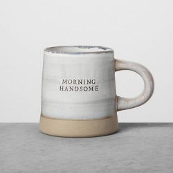 Reactive Glaze Stoneware Mug Morning Handsome Blue - Hearth & Hand™ with Magnolia