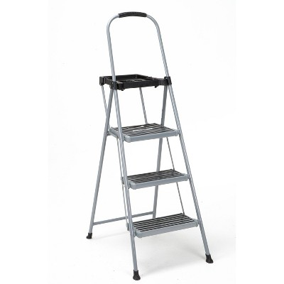 Cosco 3 Step All Steel Step Ladder with Tray
