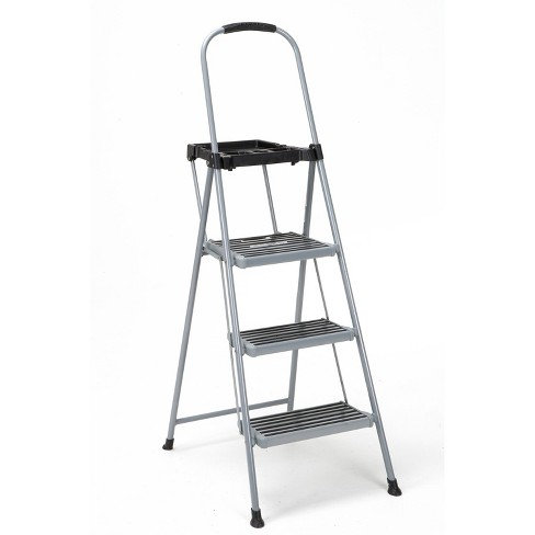 Cosco 3 Step All Steel Step Ladder With Tray Target
