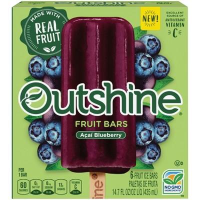 Outshine Acai Blueberry Frozen Fruit Bars - 14.7 fl oz
