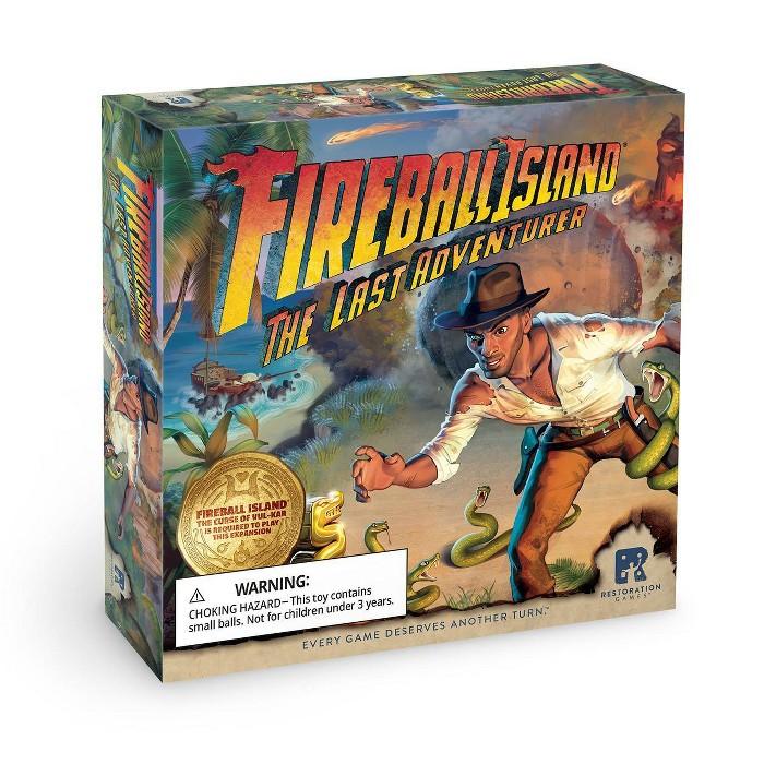 Fireball Island Game: The Last Adventurer : Target