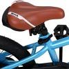 JOYSTAR Totem Series 16-Inch Ride-On Kids Bike with Coaster Braking, Training Wheels & Kickstand, Blue - image 4 of 4