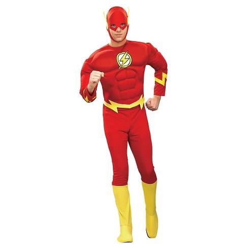 DC Comics Men's Flash Muscle Costume - image 1 of 1