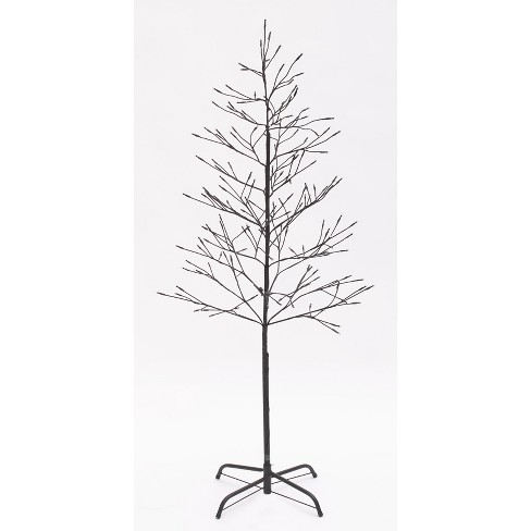 Lakeside White Lighted Twig Tree - Outdoor Christmas Decoration – 5' - image 1 of 2