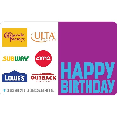 Happy Birthday Gift Card (Email Delivery) - image 1 of 1