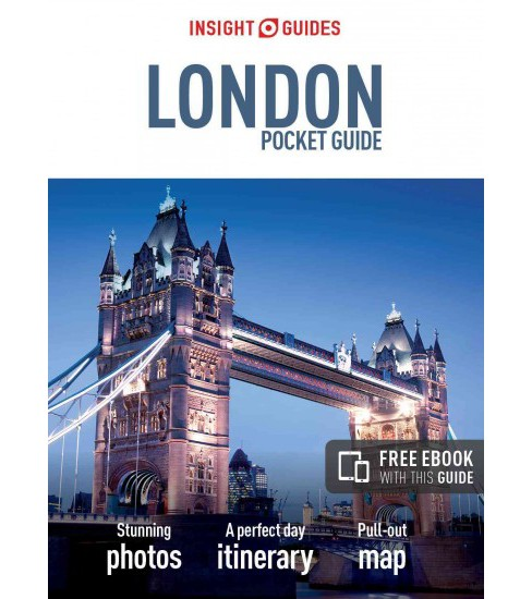 Insight Guides Pocket London -  (Insight Pocket Guides) (Paperback) - image 1 of 1