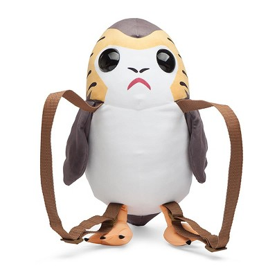 "Comic Images Star Wars The Last Jedi Porg Back Buddies 24"" Backpack"